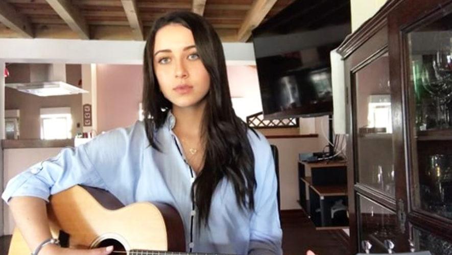 Cantante guatemalteca Camila Orantes