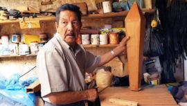 Conoce a don Nayito, fabricante de marimbas en Guatemala