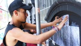 Eny Roland artista guatemalteco presenta su arte en Perú