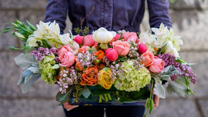 Detalles De Flores Con Mensaje Lugares Que Llevan Regalos