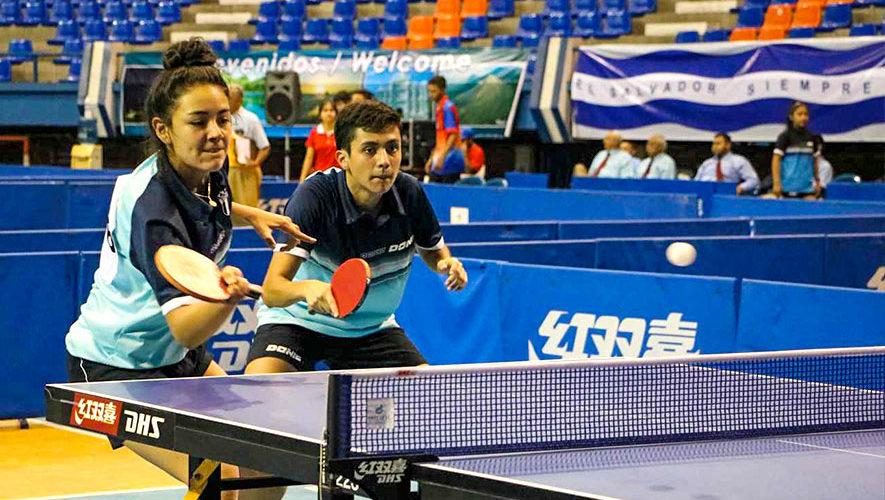 7c5bf81ac Guatemala finalizó con 3 oros el Centroamericano Infantil y Juvenil de  Tenis de Mesa 2018
