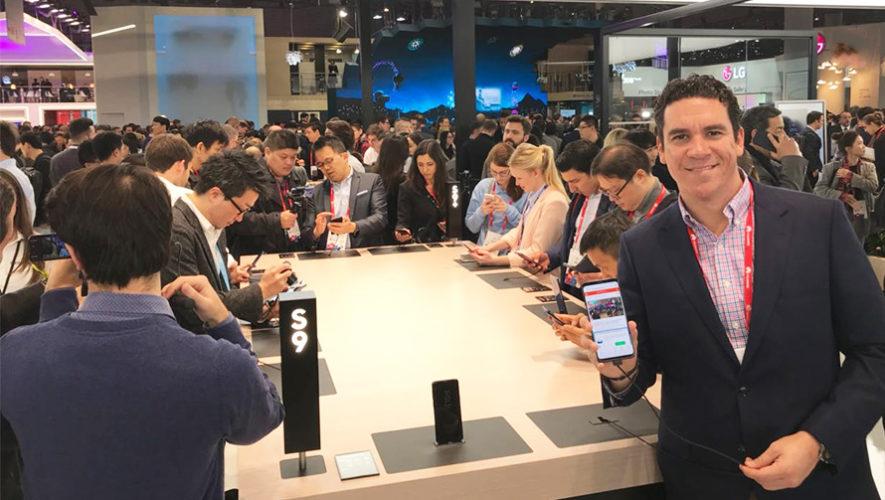 Guatemala fue invitada al lanzamiento oficial del Samsung Galaxy S9 y S9+