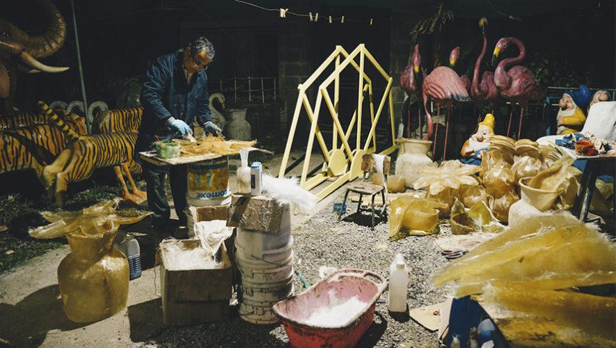 Guatemalteco destacado internacionalmente por sus esculturas de animales