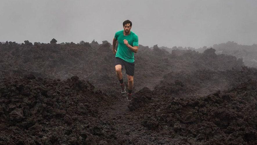 Maratón Guatemala Impact en el volcán de Pacaya   Marzo 2018