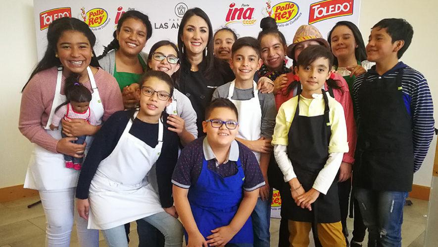 Niños guatemaltecos impresionarán en la quinta temporada de Desafío Culinario