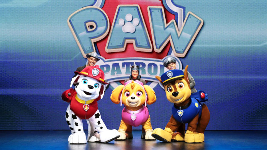 Show infantil, Paw Patrol en Guatemala   Febrero 2018
