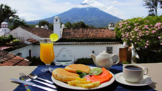 Dónde desayunar en Antigua Guatemala
