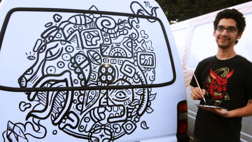 Exposición de arte de Zapatoverde en Guatemala | Marzo 2018