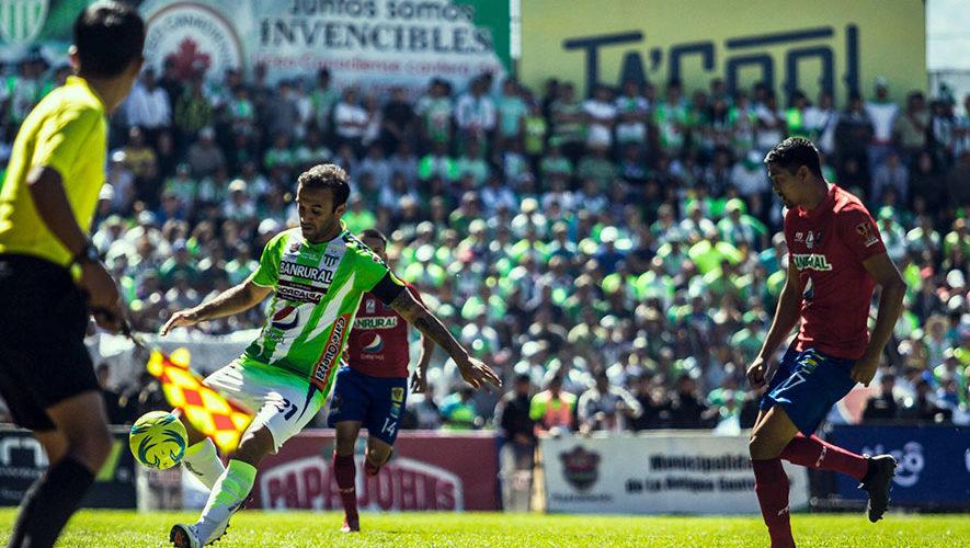 Partido de Antigua y Municipal por el Torneo Clausura | Febrero 2018
