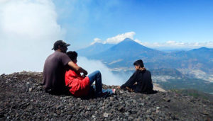 Ascenso extremo al volcán Pacaya | Febrero 2018