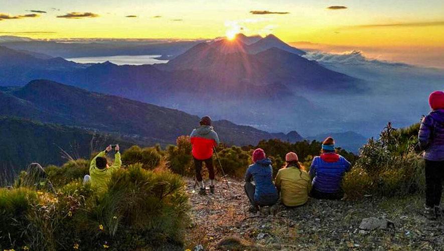 Ascenso a volcanes Zunil y Santo Tomás   Febrero 2018