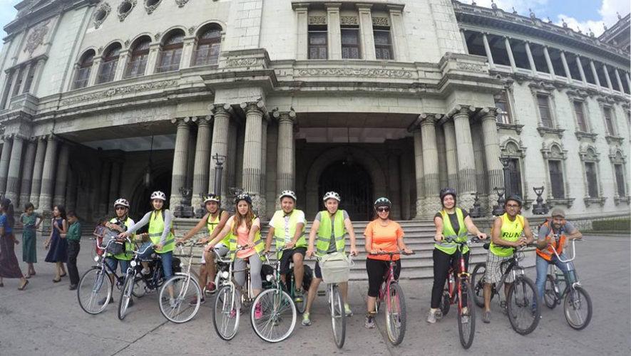 Recorrido en bicicleta por museos de la Ciudad de Guatemala   Marzo 2018