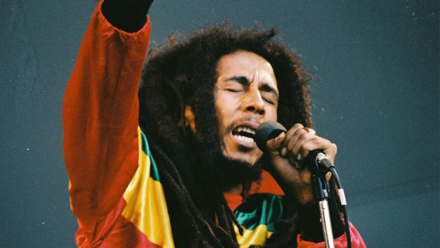Tributo a Bob Marley en el Centro Histórico | Febrero 2018