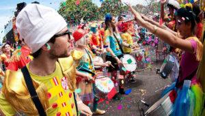 Celebración gratuita de Carnaval en Paseo de la Sexta   Febrero 2018