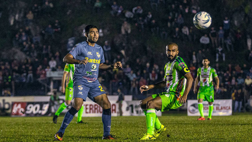 Partido de Cobán y Antigua por el Torneo Clausura | Febrero 2018