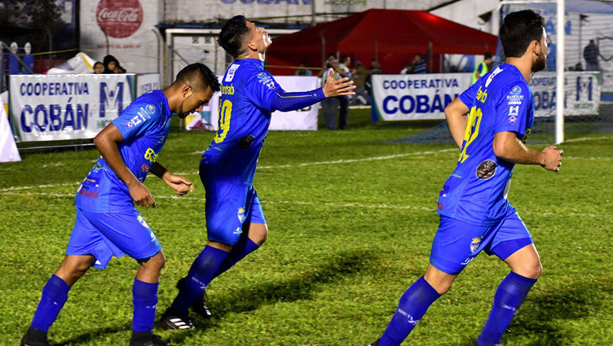 Partido de Cobán y Suchitepéquez por el Torneo Clausura   Marzo 2018