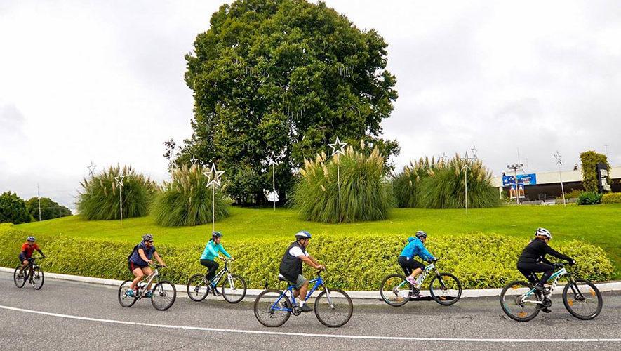 Colazo en bicicleta de 75K en la Ciudad de Guatemala | Marzo 2017