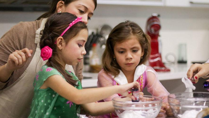 Curso de cocina para padres e hijos en el Día del Cariño   Febrero 2018