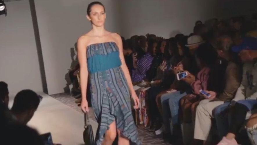 diseñadora guatemalteca se presentó en la Fashion Week New York 2018