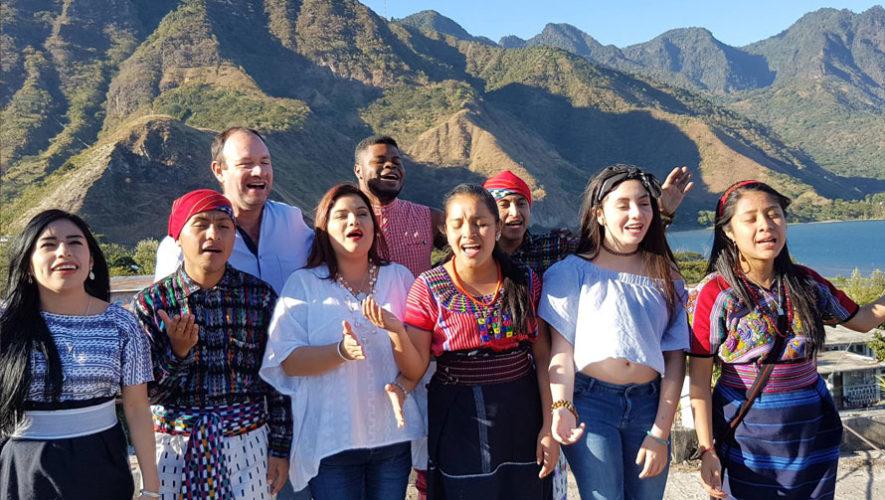 Inauguración del Festival Guatecanto   Febrero 2018
