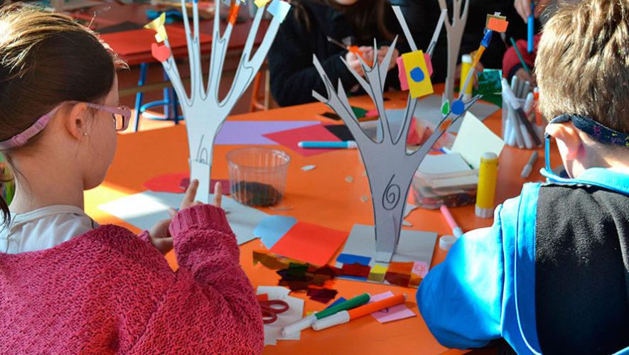 Taller creativo para niños en Sophos   Marzo 2018