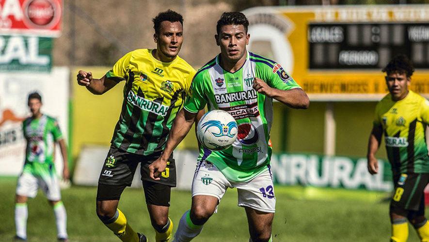 Partido de Guastatoya y Antigua por el Torneo Clausura   Febrero 2018