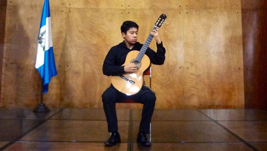 Recital de guitarra en Antigua Guatemala | Febrero 2018
