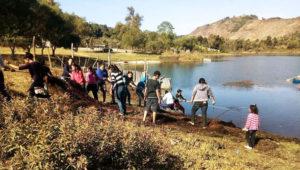 Jornada de limpieza en la Laguna de Calderas | Marzo 2018