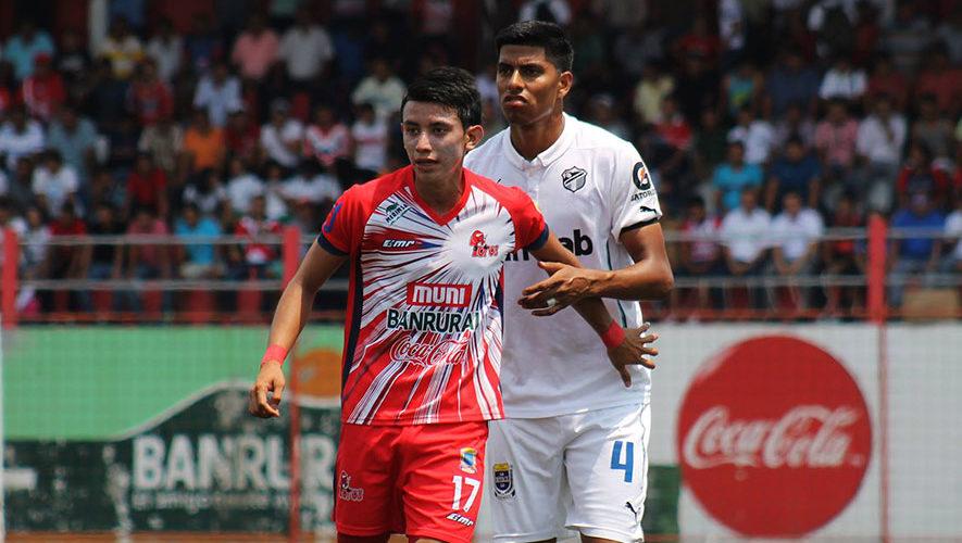 Partido de Malacateco y Comunicaciones por el Torneo Clausura | Febrero 2018