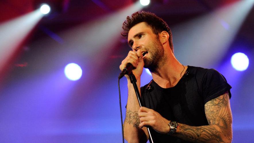 Concierto de Maroon 5 en Guatemala   Marzo 2018