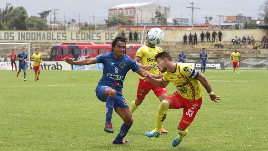 Partido de Marquense y Municipal por el Torneo Clausura | Marzo 2018
