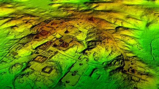 LiDar mecrópolis maya