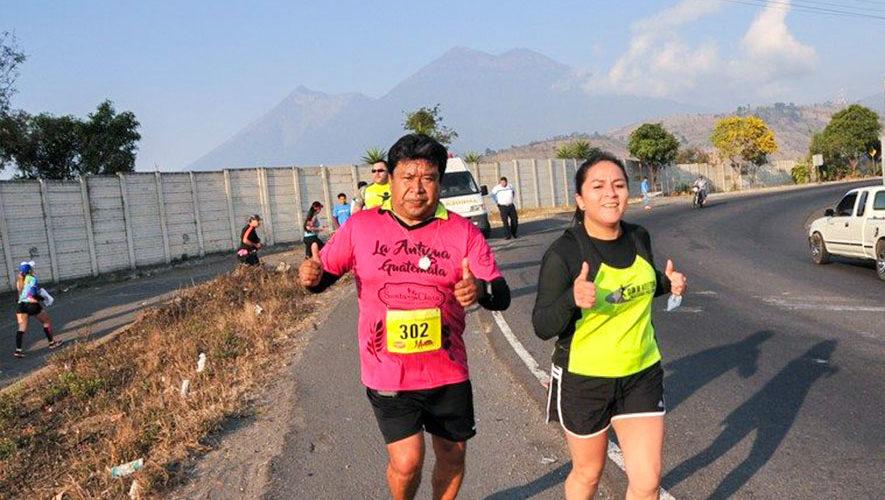 Media Maratón 21K Antigua   Mayo 2018