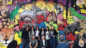 Inauguración de mural en el Zoológico La Aurora | Febrero 2018