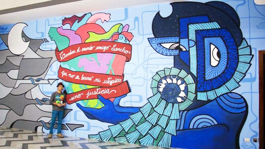 Convocatoria abierta a artistas para crear un mural en Guatemala | Febrero 2018