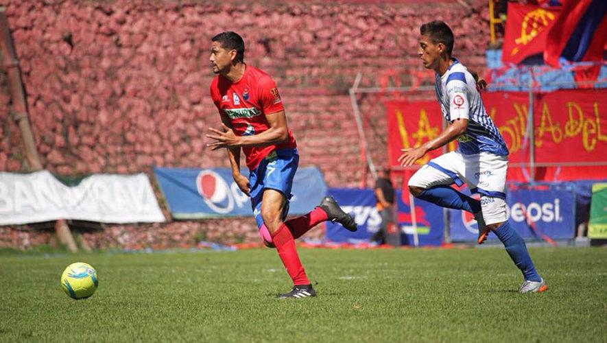 Partido de Municipal y Suchitepéquez por el Torneo Clausura   Febrero 2018