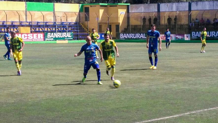 Partido de Petapa y Cobán por el Torneo Clausura | Febrero 2018
