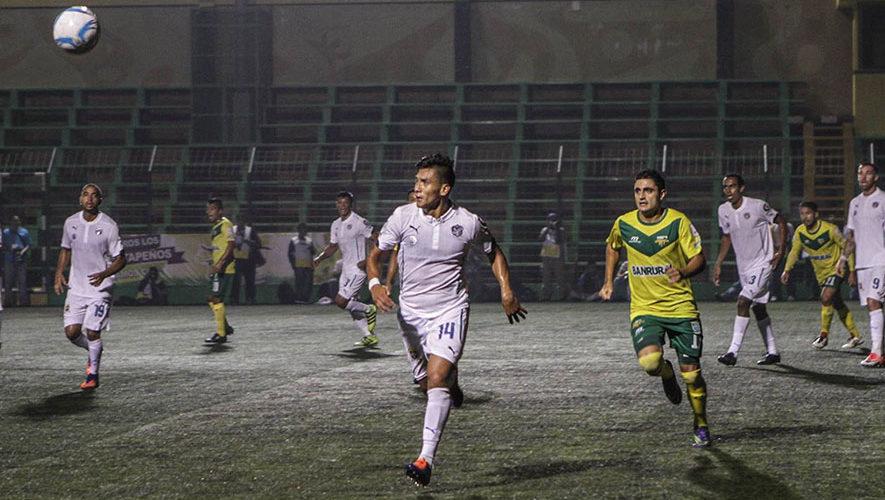 Partido de Petapa y Comunicaciones por el Torneo Clausura   Febrero 2018
