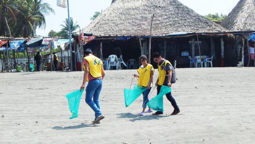Jornada de limpieza en Playa Tilapa, San Marcos | Febrero 2018