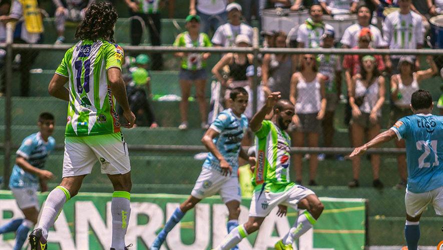 Partido de Sanarate y Antigua por el Torneo Clausura   Marzo 2018