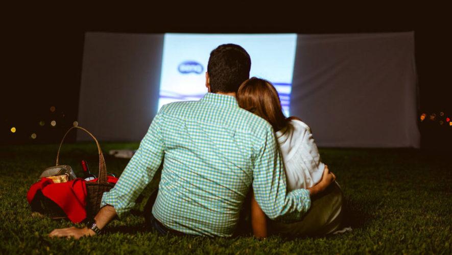 Noche romántica de picnic y película   Febrero 2018
