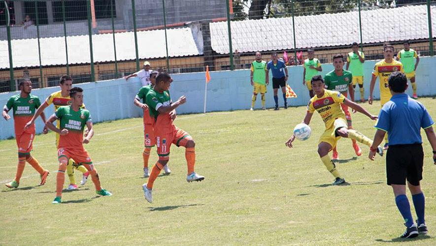 Partido de Siquinalá y Marquense por el Torneo Clausura | Febrero 2018