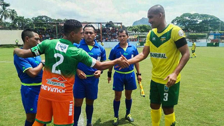 Partido de Siquinalá y Petapa por el Torneo Clausura   Febrero 2018