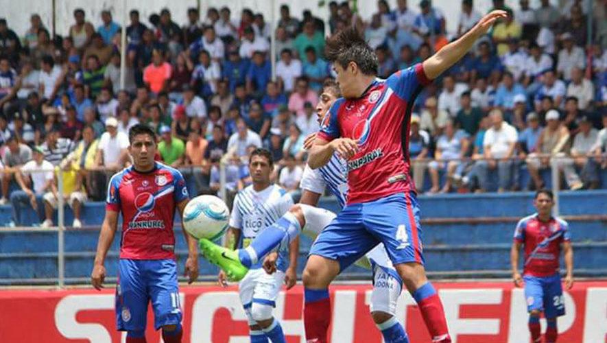 Partido de Suchitepéquez y Xelajú por el Torneo Clausura | Febrero 2018