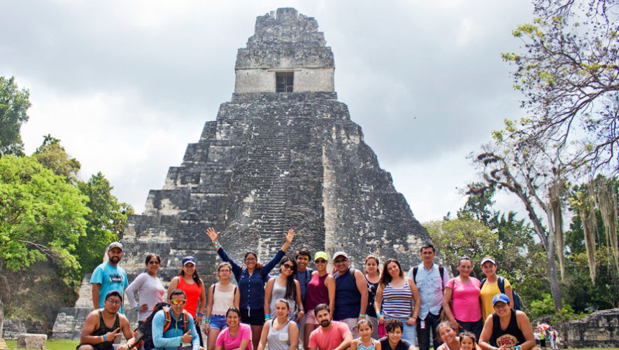 Tour a las ruinas de Tikal en Petén | Marzo 2018