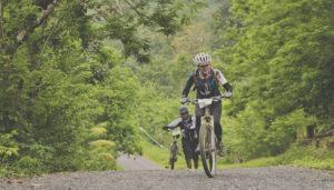 Travesía MTB en bicicleta de Río Dulce a Punta de Palma   Marzo 2018