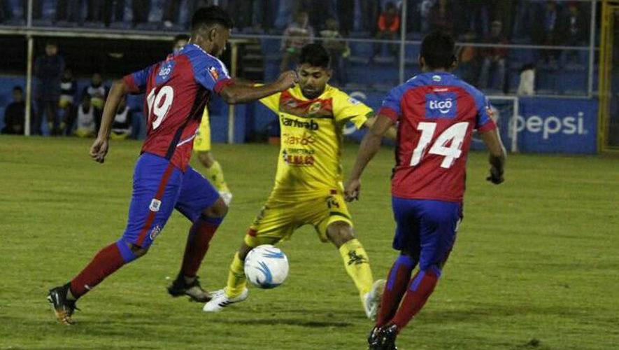 Partido de Xelajú y Marquense por el Torneo Clausura | Febrero 2018