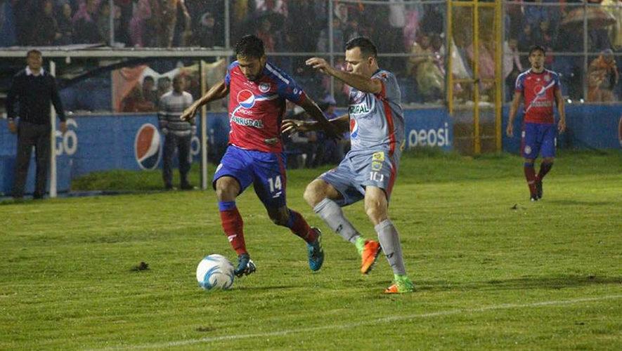 Partido de Xelajú y Municipal por el Torneo Clausura   Febrero 2018