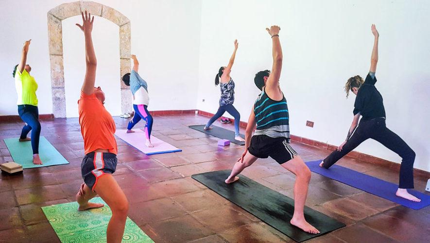 Taller de introducción al yoga en Guatemala   Febrero 2018
