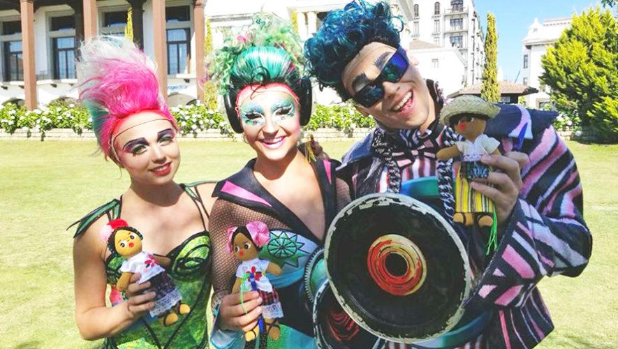 Artistas de Cirque du Soleil visitaron varios lugares de Guatemala